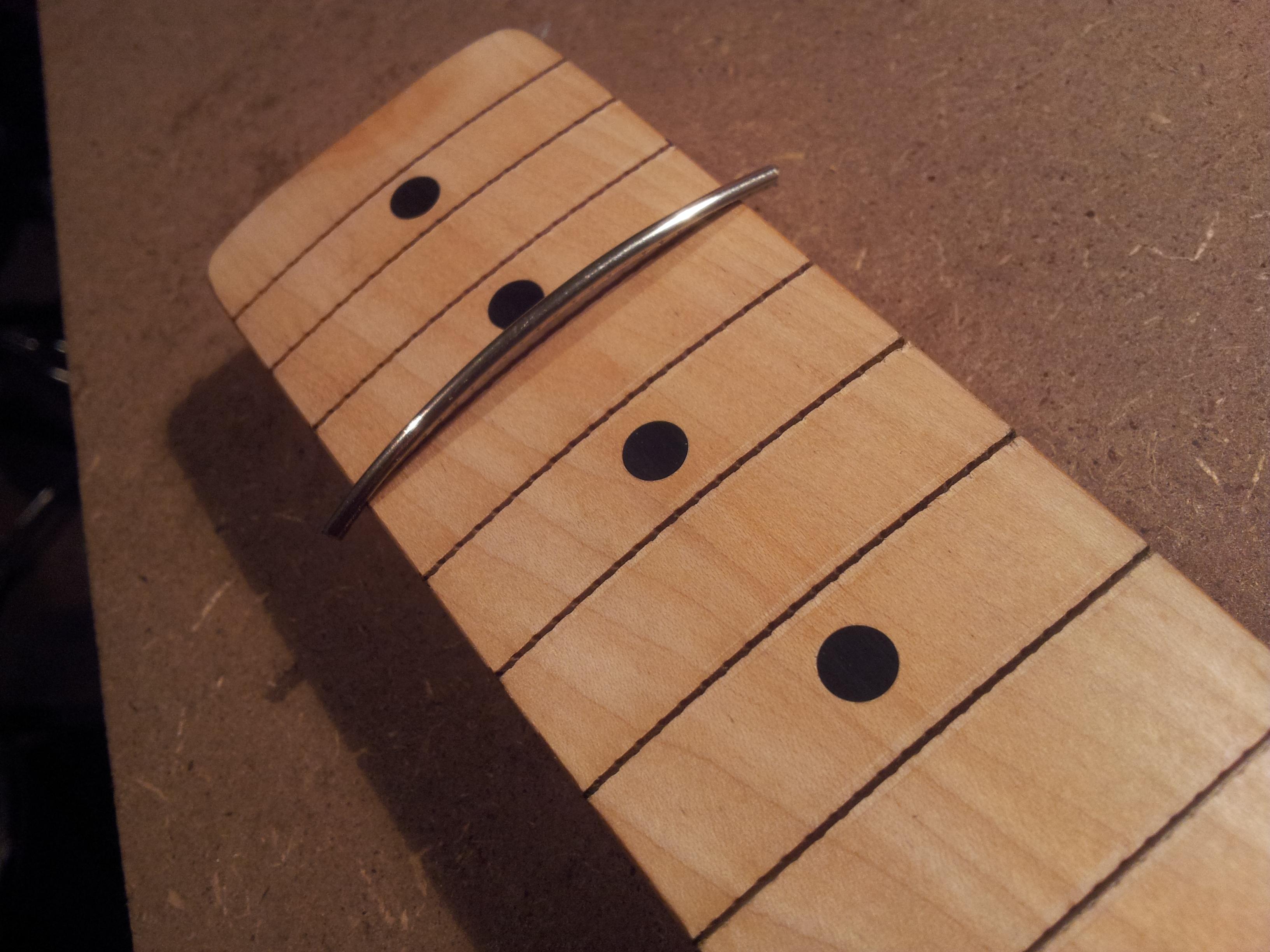 how to re fret guitars the fret mechanic. Black Bedroom Furniture Sets. Home Design Ideas